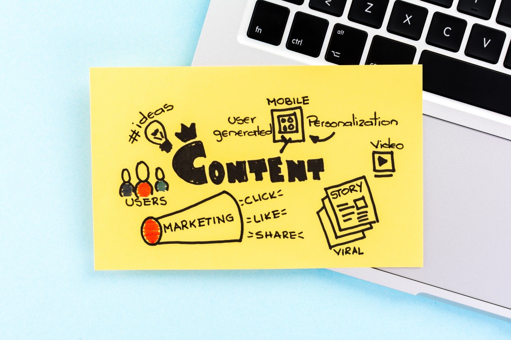 content marketing terms