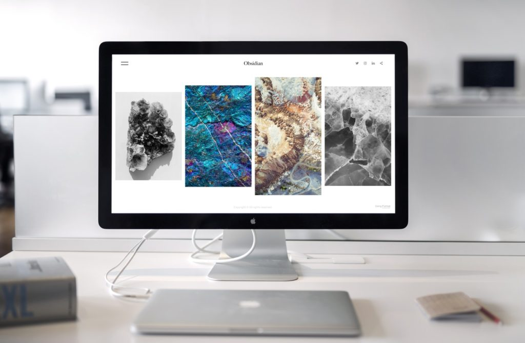 web page on mac