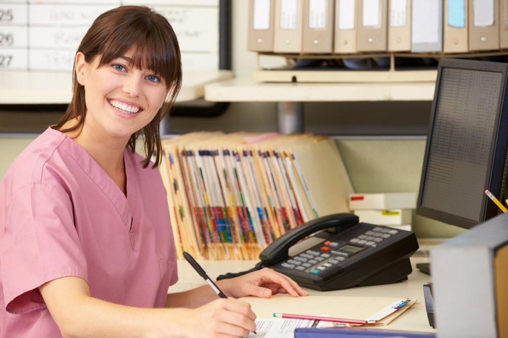 nurse on duty