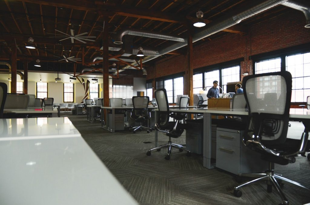 empty workplace